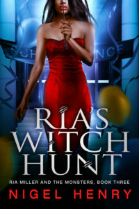 Ria's Witch Hunt Cover